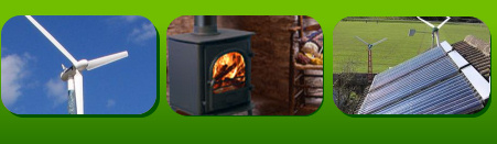 The Green Power images Wood Stoves, Solar Panels and Wind Turbines